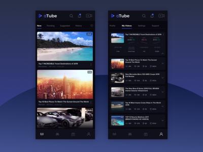 Alpha Tube / Mobile Video Sharing App