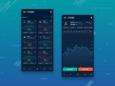 uTrader - Stocks Trading Mobile