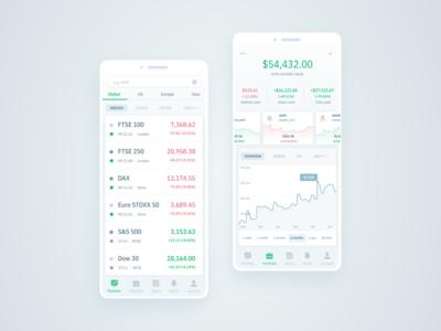 Investment Portfolio Mobile App