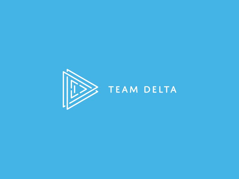 Logo Design Team Delta By Dovile Dribbble