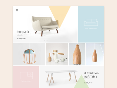 #11 - UI of the day freebies ui sketch download template website webdesign layout icons gallery flat clean
