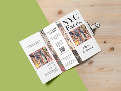 NYC Faces Brochure