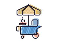 Mr. Hotdog Cart