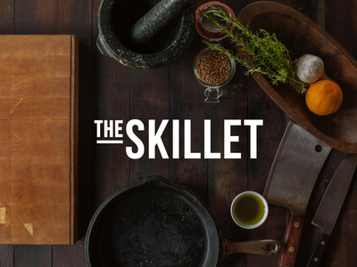 The Skillet. Logotype