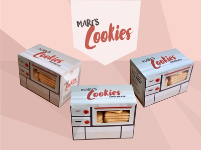 Mari's cookies packaging