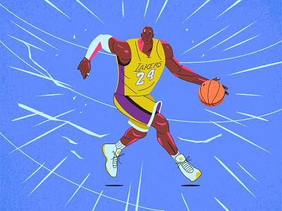 Kobe illustration basketball kobebryant kobe