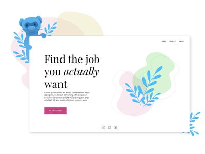 Job Search: Landing Page