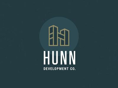 Hunn icon branding identity logo