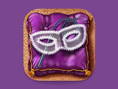 Mask Ios Icon cloth whip sexy mask pillow m18 icon ios apple ios7 iphone ipad
