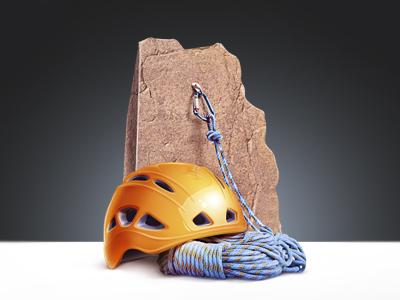 Jumping Equipment helmet rope carbine rock jumping m18