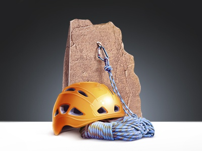 Jumping Equipment helmet rope carbine rock jumping m18
