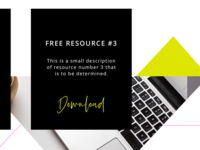 Free Resource Section