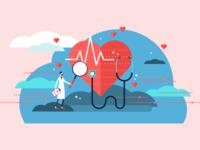 Hiring Healthcare Illustration
