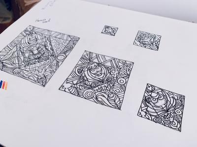 Concept: Hermes print