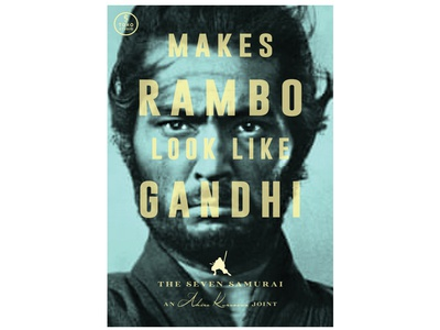 """Makes Rambo Look Like Gandhi"""