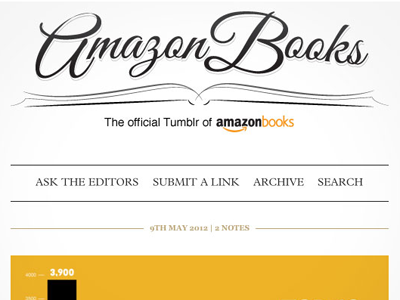 Amazon Books Tumblr design illustration tumblr typography