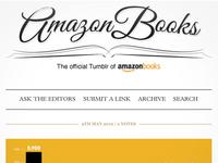 Amazon Books Tumblr