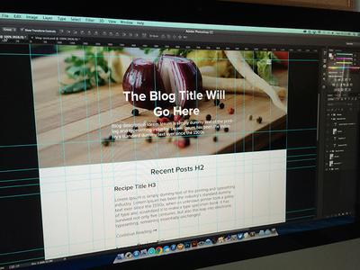 Food Blog WIP