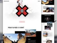 X Games Austin Concept - Full Pixels