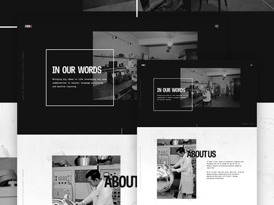 Unused about page concept grid team design psd codeq web science about