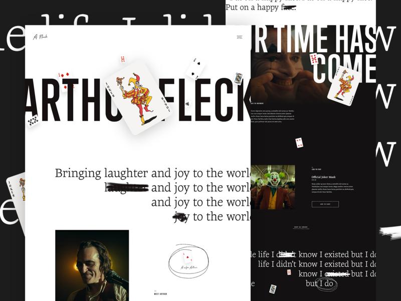 Put on a happy face ecommerce parallax photoshop typography grid ui web design web design mocktober