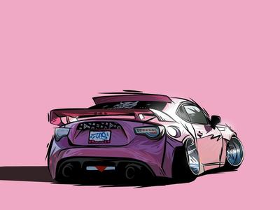 Pink BRZ