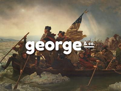 George & Co. Sneak Peek goofy social shopify ecommerce puns history potomac branding presidents washington george