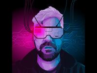 Cyberpunk Portrait with VR