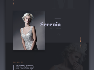 Look Book Exploration look book experiment wedding layers magazine ui web layout