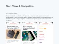 Navigation exploration