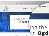 Startup Ogden Landing Page