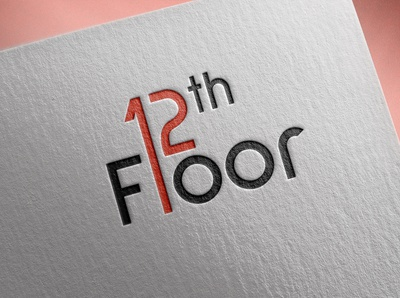 12th floor logo design