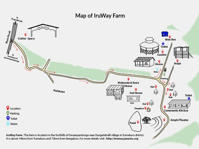 IruWay Map website illustration