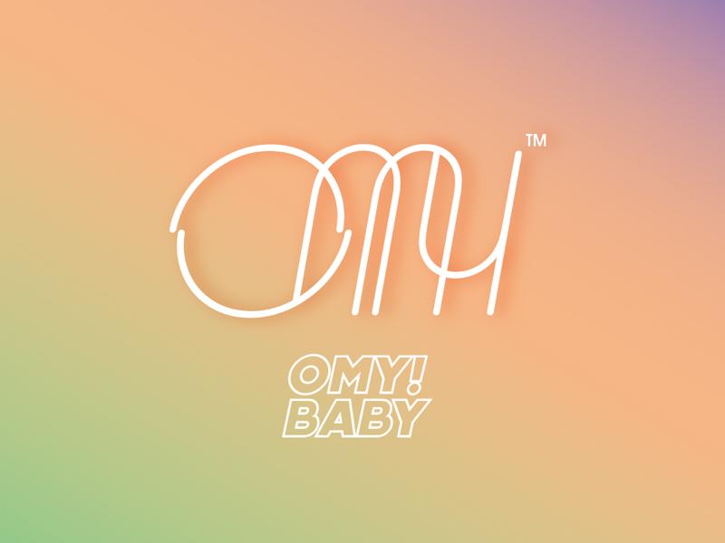 OH MY BABY ai design logo