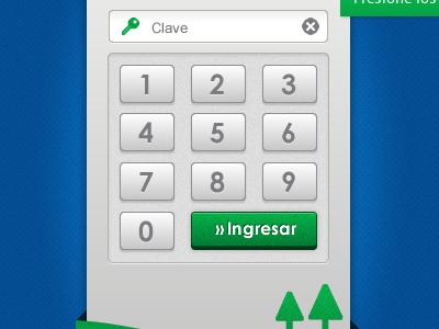 Coop Crea Login Virtual Bank login virtual keyboard users ui web app