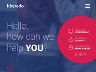 Liberado education platform web community design app
