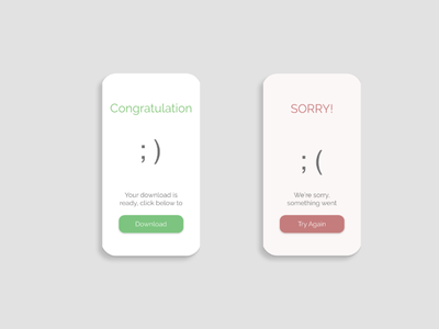 Daily UI Day 011: Flash Message flashmessage day011 day 11 flash message web daily ui ux design daily ui dailyui daily 100 challenge