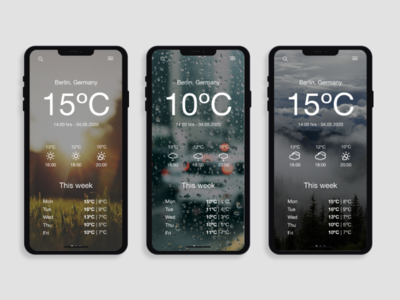 Daily UI Day 037: Weather