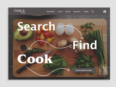 Daily UI Day 040: Recipe