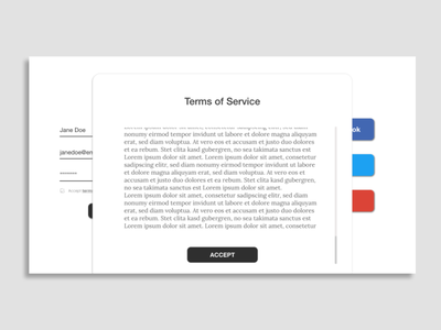 Daily UI Day 089: Terms of Service servide servide terms terms and conditions terms of service day 89 day 089 component component design webdesign web daily design daily 100 challenge ux ui daily ui dailyui