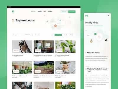 Eosium app webapp web app website design app design ui design home page landing page ui typography graphic design