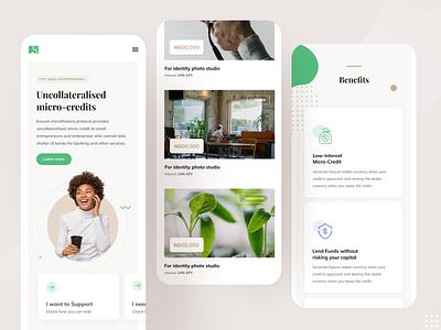Eosium app design minimal webapp app web app concept design ui graphic design