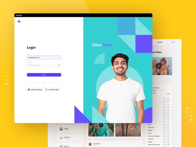 Login screen add password signin onboarding yellow ui typography minimal styleguide branding social app webapp web app sign in login graphic design social network app