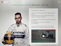 F1rst driving lesson