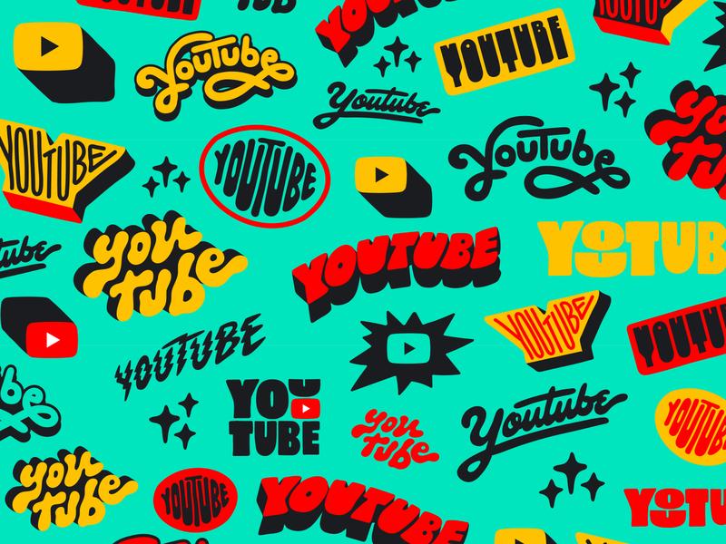 YouTube Header illustration brazil logotype typography type youtube banner youtube