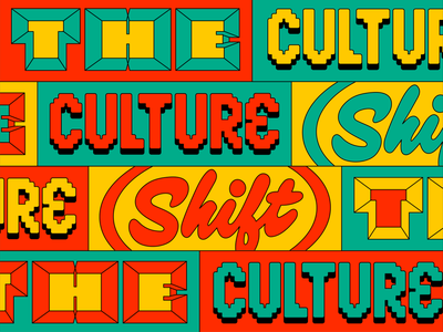 The Culture Shift by Facebook lettering typography identity the culture shift facebook