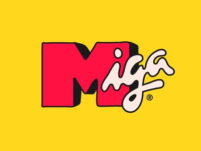 don't miga me if you don't know me memes slangs pop culture mtv bff friend miga typography type lettering letterad