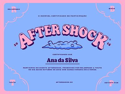 Certificado AfterShock certificate aftershock