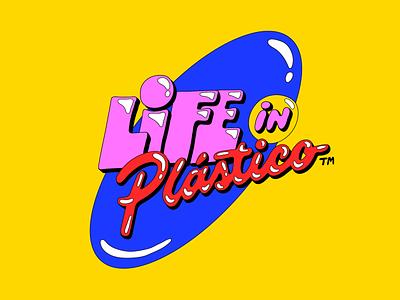 Life In Plástico Melissa lettering typography type brazil melissa plastic