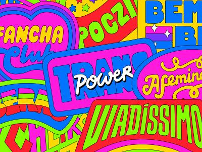 Avon Pride typography vector type logotype logo gay lettering brazil pride lgbt lgbtq